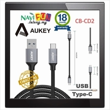 ★ Aukey Type C to USB 3.0 [CB-CD2] Cable Braided (1M) for Note 7