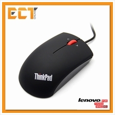 Lenovo Thinkpad Precision MOGOUO USB 3 Button Optical Mouse - Midnight Black &