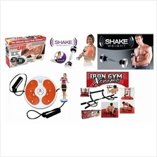 Iron Gym Xtreme Upper Body Shake Weight Men Women Push Up Bar Slimming