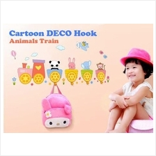 Cartoon DECO HOOK (trains/birds/elephant)