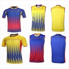 2016 Badminton shirt jersey top for Men and Lady (M)