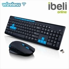 Wireless 2.4G Desktop Set Wireless Mouse and Multimedia Keyboard Comb