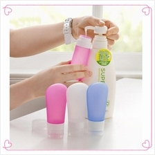 Portable Silicone Travel Shampoo Small Toiletries Bottle