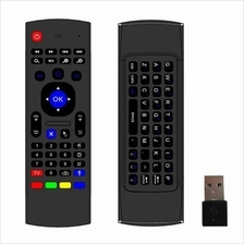 2016 New 2.4Ghz Wireless MX3 Mini Keyboard IR Flying Air Mouse