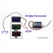 -50 ~110 ℃ DC Digital Temperature Thermo meter Panel Thermometer