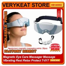 Magnetic Eye Care Massager Massage Vibrating Rest Relax Protect T-017