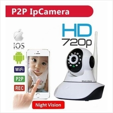 HD 720p P2P Wireless IP Camera CCTV Camera NightVision Wifi