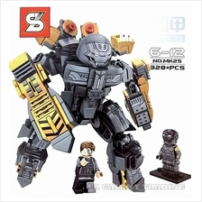 Lego Compatible IRON MAN MK25 HULK BUSTER Toy Set with minifigures