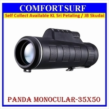 Panda Monocular 35 X 50 Pocket-Size Telescope Clear Vision Dual Focus