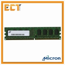 Micron 1GB DDR2 800MHZ (PC2-6400U) Desktop PC RAM -MT8HTF12864AY-800G1