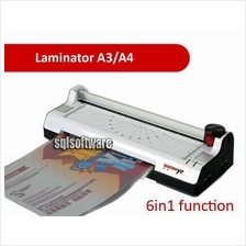 6-in-1 SOONYE Laminator Paper Photo A4 A3 Cutter Trimmer Corner Round