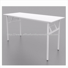 4 x 1.5 ft Office White Banquet Folding Table OFMW1245 klang valley KL
