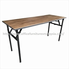 4 x 2 ft Cappuccino Rectangular Banquet Folding Table OFMB1260 usj KL