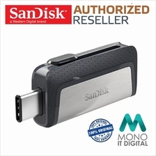 Sandisk Ultra Dual Drive USB Type-C OTG Flash 128GB 64GB 32GB 16GB Pen