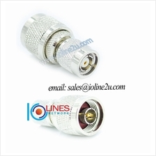 RP-TNC male to N male adapter Converter Gender changer Radio WIFI