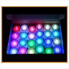 New Led Light Candle Electronic Flameless Color wedding Party coloful