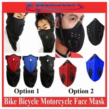 Neck Warm Pm2.5 Carbon Filter Anti Haze Bicycle Motorcycle Face Mask