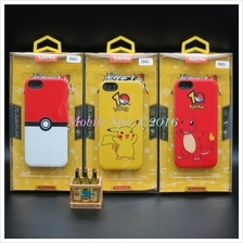 Apple iPhone 5 6 6s Plus Samsung Note 5 Pokemon Go Pikachu Case Casing