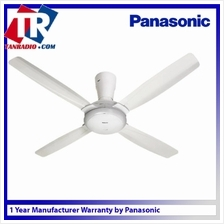 Panasonic Bayu 4 Blades with Remote Control Ceiling Fan 56 Inch (White) PANA-F