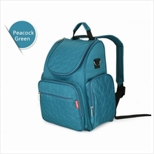New Arrival Multifunctional Baby Diaper Backpack (Green/Purple/Blue/Be