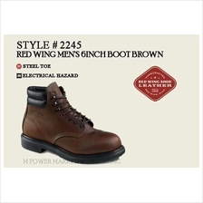 RED WING 2245 MEN'S 6-INCH BOOT Safety Shoes Working Shoes)
