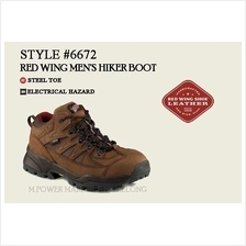 RED WING 6672 MEN'S HIKER BOOT Safety Shoes Working Shoes