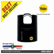 YALE Y121-40-125-1 40MM CLASSIC  SERIES BRASS SHROUDED PADLOCK 40MM