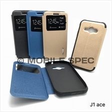 Samsung J1 Mini Ace J2 J3 J5 J7 2016 E7 V Prime Mercury S-View Case