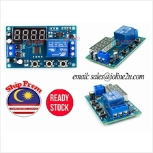 5V/12V/24V DC 3 working mode Delay on/off timer repeat 1-9999s/9999m Loop LED
