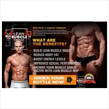 Lean Muscle Formula (Mens Male Booster Penguat Lelaki)