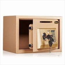 Cash Coin Drop Home Shop Use Digital Safety Deposit Box wall safe vaul