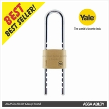 Yale Y110-50-155-1 50MM SOLID BRASS  / NATURAL PADLOCK
