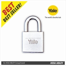 Yale 640CP 40MM / 650CP 50MM HEAVY DUTY SQUARE CHROME PADLOCK