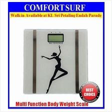NEW High Precision Slim Health Digital Body Weight Fat Analyze Scale