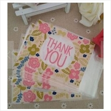 Baking Packaging �Thank You� Cookie Biscuit Candy Plastic Bag 100pcs