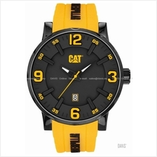 Caterpillar CAT Watches NJ.161.27.137 BOLD Date Rubber Black Yellow