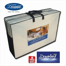 Free Gift + Dreamland Foldable Latex Feel Single Mattress