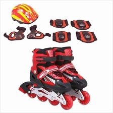 SOKANO Inline Skated Roller Shoes Adjust Length Protective Equipment
