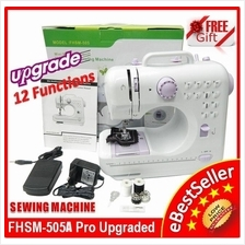 Original Sewing Machine FSHM-505 Pro Upgraded 12 Functions