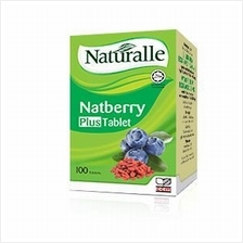 Naturalle Natberry Plus Tablet (100's Tabs) (Eye Supplement)