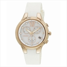 CITIZEN FB1312-06A FB1312-06 Eco-Drive Swarovski Chrono Ladies Watch
