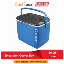 Coleman 30 QT (28L) Excursion Cooler Box- Blue (3000001999)
