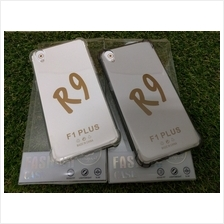 Oppo R9 F1 plus Transparent shock proof jelly silicon tpu back case
