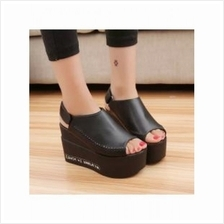 Fish head shoes Wedges 7611