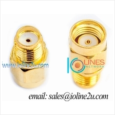 Low Loss 24k RP-SMA male/female to SMA Female adapter Converter Gender Changer