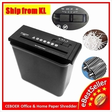 Rayson S606B Mini Office 6.8mm Confidential Paper Shredder Cutter