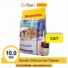 Josera Super Premium Culinesse Cat Food 10KG + Bundle Chitocure Ear Cleaner