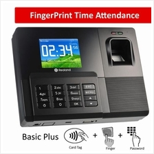 Fingerprint attendance finger print punch card machine