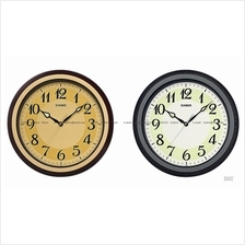 CASIO IQ-80 analog large easy reader neobrite wall clock