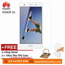 Huawei Honor 5A-Premier HD 9H Tempered GLass Screen Protector&Free Gi